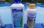 Химия для каркасного бассейна: какую выбрать и как правильно использовать и отзывы