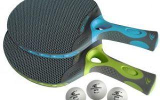 Ракетка для настольного тенниса: как выбрать для любителя и профессионала