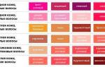 Как правильно подобрать цвет помады для брюнеток, шатенок и рыжих с карими глазами + фото