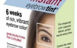 Краска для бровей: как выбрать, отзывы какая лучше
