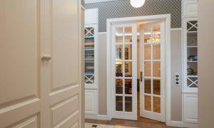 Красивая межкомнатная стеклянная дверь — из какого стекла выбрать: матового или рифленого, виды и фото