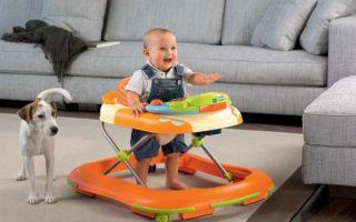 Ходунки для детей: как правильно выбрать, с какого возраста, польза или вред