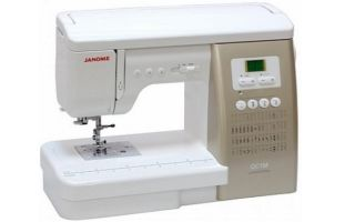 Швейные машинки Janome: как выбрать лучшую для дома, обзор моделей и отзывы