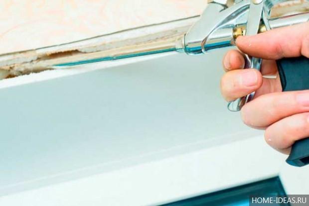 Монтажная пена как выбрать для утепления окон и дверей: советы, отзывы
