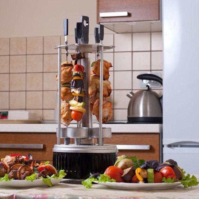 Электрошашлычница: как выбрать для дома, рейтинг лучших + отзывы покупателей