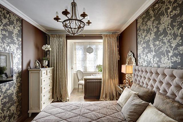 Какой дизайн мебели выбрать для спальни в классическом или современном стиле + фото