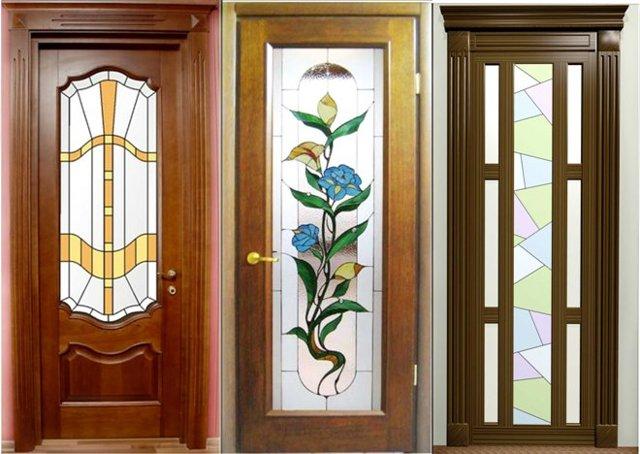 Красивая межкомнатная стеклянная дверь - из какого стекла выбрать: матового или рифленого, виды дверей + фото