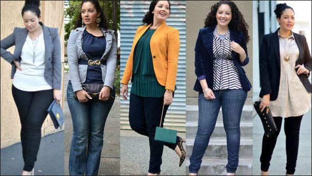 Какие джинсы стоит выбрать на полные бедра и ягодицы + фото