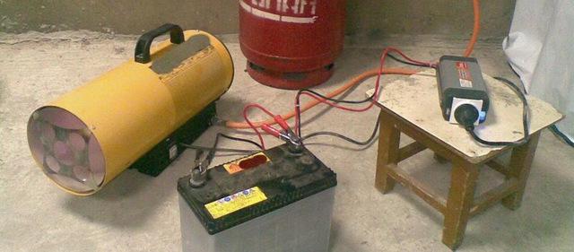 Газовая тепловая пушка непрямого нагрева: отзывы о работе