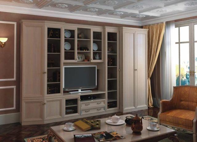Какую мебель выбрать для гостиной в современном стиле: корпусная мебель для гостиных + фото