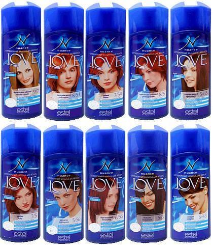 Оттеночные шампуни для волос эстель: палитра + отзывы