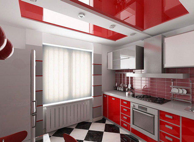 Потолок на кухне какой лучше сделать: из гипсокартона или пластиковых панелей, фото, отзывы