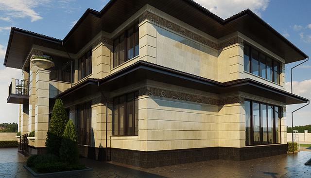 Облицовка фасада дома: как и какой материал лучше выбрать + фото