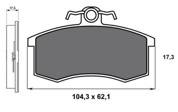 Тормозные колодки для ВАЗ 2107, 2109, 2110, 2114 какие лучше выбрать, отзывы
