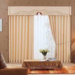 Какие шторы лучше всего подойдут к бежевым обоям: таблица сочетания цветов + фото