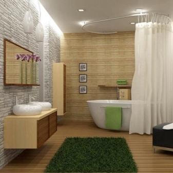 Можно ли стелить линолеум в ванной комнате: все за и против, отзывы, особенности выбора + фото
