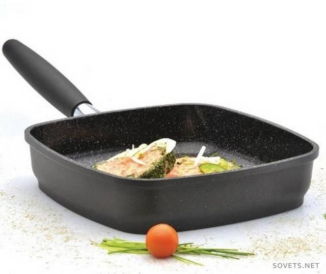 Как выбрать сковороду-гриль для газовой, стеклокерамической, индукционной и электрической плиты