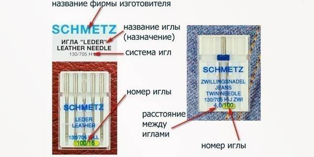 Как выбрать иглу для швейной машинки: как правильно определить нужные иглы для швейных машин